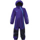 Bergans Kids Lilletind Coverall Lavender/Navy/Br Sea Blue
